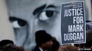 Duggan protest