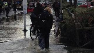 Botley floods
