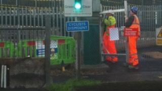 Fishbourne level crossing