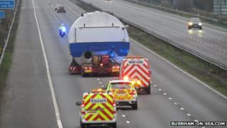 The boiler on the M5