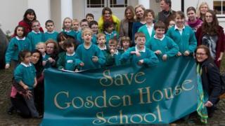Gosden House campaigners