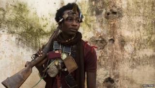 Militiaman in Bangui