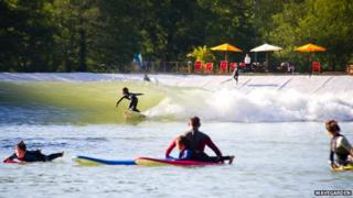 The Wavegarden facility in northern Spain