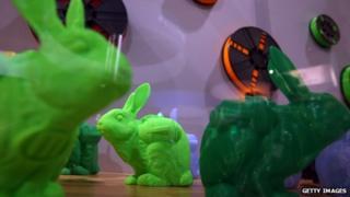3D printed bunnies