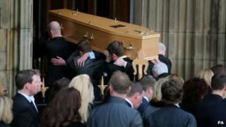 Funeral of Paul Goggins MP