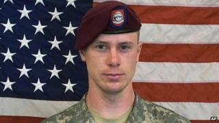 Undated image of US Army Sgt Bowe Bergdahl