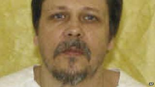 Undated file photo of Dennis McGuire provided by the Ohio Department of Rehabilitation and Correction
