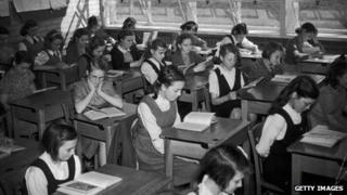Ruislip Bourne Secondary Modern School in 1948