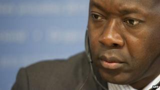 Liberia's finance minister Amara Konneh