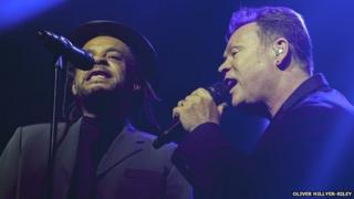 Astro and Ali Campbell