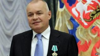 Russian television journalist Dmitry Kiselev
