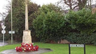 Banstead war memorial