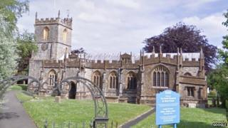 St Mary's church in Chard, Somerset