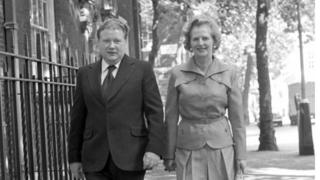 Lord McAlpine and Lady Thatcher