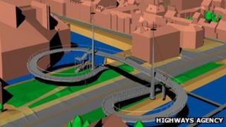 One of the new bridge designs