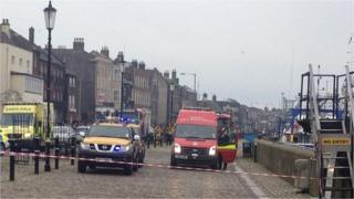 Emergency services at port