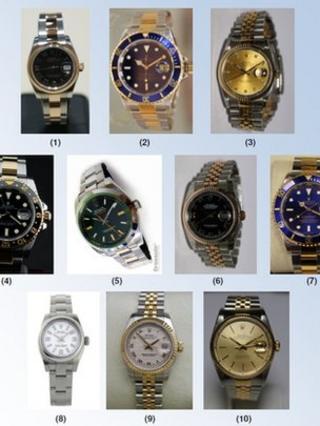 stolen watches