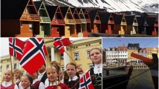 Montage, Nordic country images