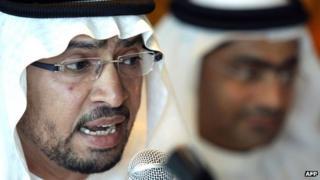 Emirati lawyer Mohammed al-Mansoori (January 2011)