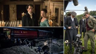 Promo shots of Death Comes to Pemberley, The Great Train Robbery and Peaky Blinders