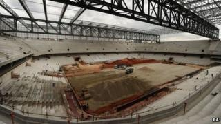 Arena da Baixada, Curitiba, 16 Dec 13