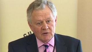 Cumbria's Police and Crime Commissioner, Richard Rhodes