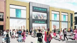 Artist impression of Walsall's Old Square Shopping Centre