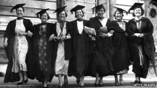 Graduates in 1936
