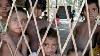 Santhal children