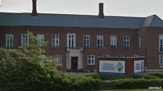 Devon and Cornwall Police headquarters (Pic: Google)