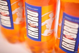 Irn Bru bottles