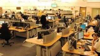 Generic police control room