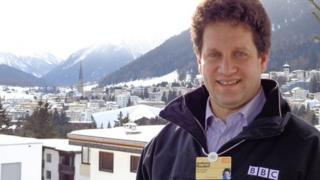 Anthony Reuben in Davos