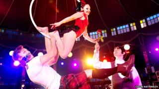 Burlesque Burns Supper