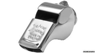 ACME Thunderer whistle