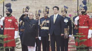 Japanese Prime Minister Shinzo Abe has pledged to strengthen bilateral ties with India
