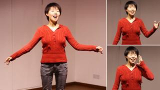 Ruhan rehearsing