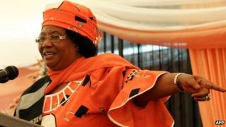 Joyce Banda (file photo)