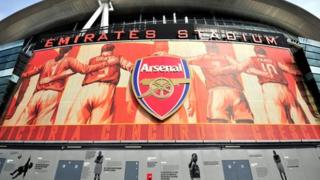 Arsenal's Emirates Stadium in north London