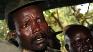 File picture of Joseph Kony from 2006