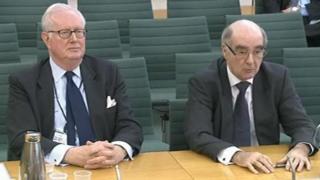 Rodney Baker-Bates (left) and David Davies