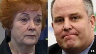 Rosemary Butler and Andrew RT Davies