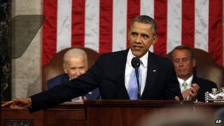 President Barack Obama delivers the 2014 State of the Union address