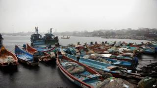 File picture of India boats