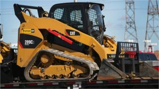 Caterpillar front end loader