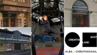 Glasgow arts venues