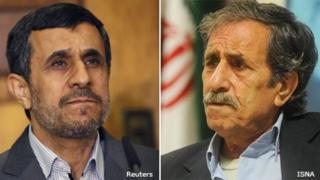 Mahmoud Ahmadinejad and Mahmoud Basiri