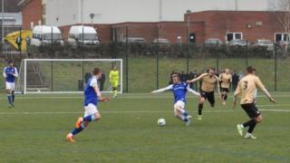 Ipswich Town u21s v Colchester United u21s at Kesgrave High School