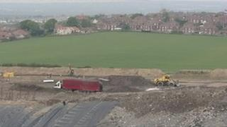Houghton landfill