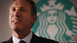 Starbucks boss Howard Schultz